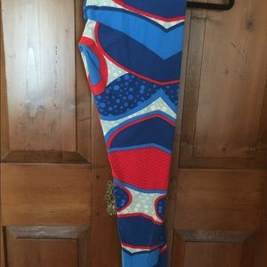 LuLaRoe Vintage T&C Leggings